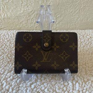 LOUIS VUITTON french purse kisslock wallet